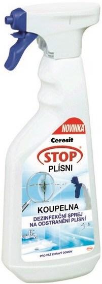 Ceresit Stop Plísni Koupelna dezinfekční sprej na odstranění plísní rozprašovač 500 ml