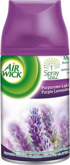 Fotografie Air Wick FreshMatic Max Purple Levandulové louky - Lavender Meadow náhradní náplň 250 ml