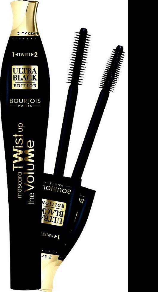 Bourjois Twist Up The Volume Ultra Black řasenka 52 Ultra Black 8 ml