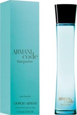 Giorgio Armani Code Turquoise Eau Fraiche toaletní voda pro ženy 75 ml