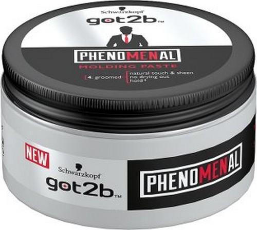 Fotografie Got2b Phenomenal Moulding Paste tvarující pasta na vlasy 100 ml