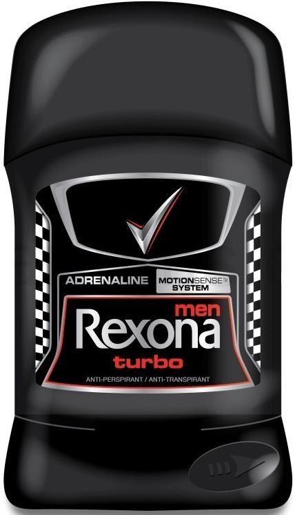Rexona Men Turbo antiperspirant deodorant stick pro muže 50 ml