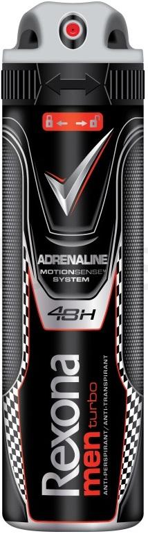 Rexona Men Turbo antiperspirant deodorant sprej pro muže 150 ml