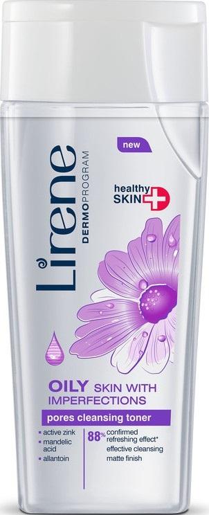 Lirene Oily Skin With Imperfection tonikum na čištění pórů pro mastnou pleť 200 ml