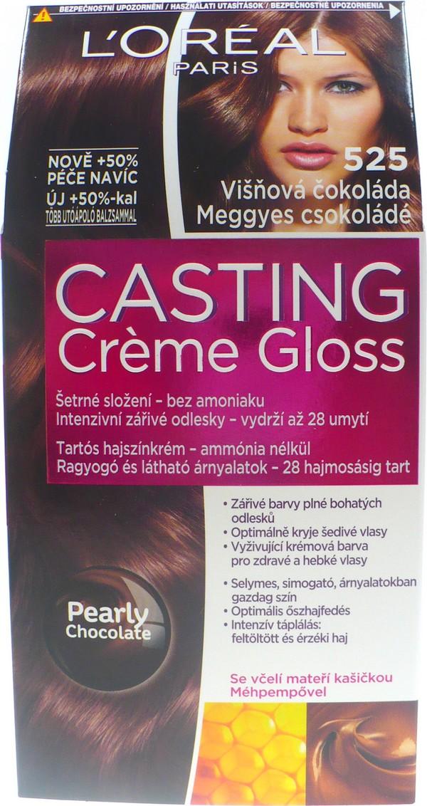 Fotografie Loreal Paris Barva na vlasy Casting Cr?me Gloss 525 višňová čokoláda