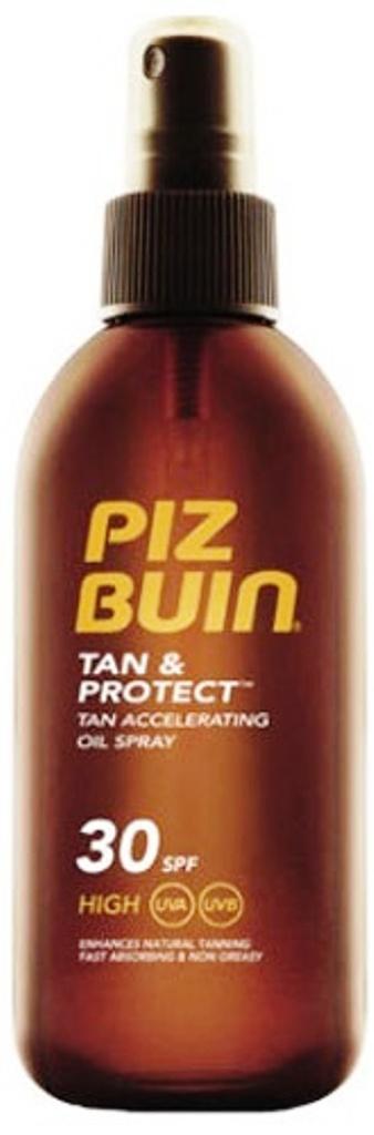 Piz Buin Tan & Protect Tan Accelerating Oil Spray ochranný olej ve spreji SPF 30 150 ml