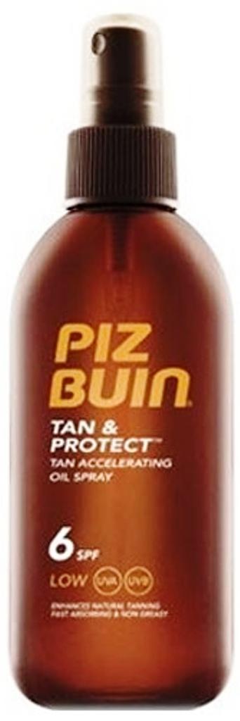 Piz Buin Tan & Protect Tan Accelerating Oil Spray, urychlující proces opalování, ochranný olej ve spreji SPF 6 150 ml
