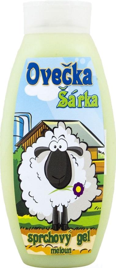 Bohemia Gifts & Cosmetics Kids Ovečka Šárka Meloun sprchový gel 500 ml