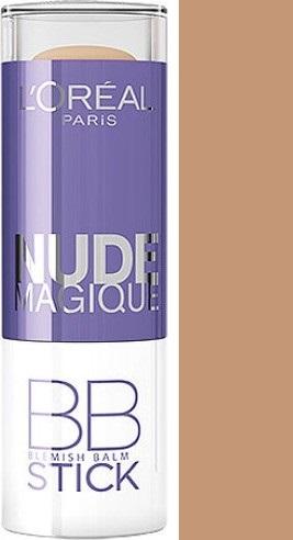 Loreal Paris Nude Magique BB Blemish Balm Stick korektor Medium to Dark Skin 9 ml