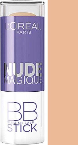 Loreal Paris Nude Magique BB Blemish Balm Stick korektor Light to Medium Skin 9 ml