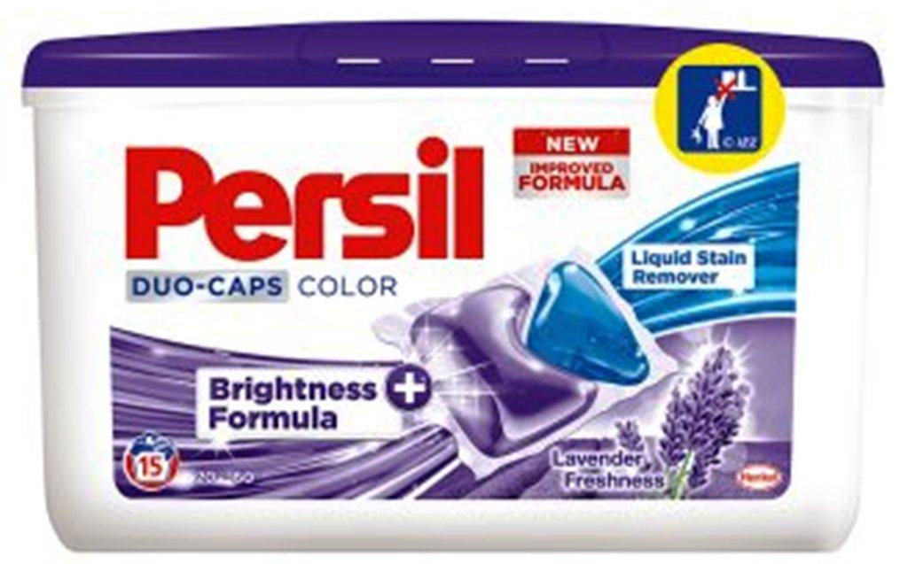 Fotografie Persil Lavender Freshness Duo-Caps Color gelové kapsle 15 dávek x 25 g