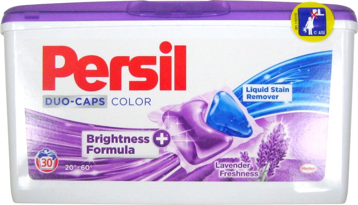 Fotografie Persil Lavender Freshness Duo-Caps Color gelové kapsle 30 dávek x 25 g