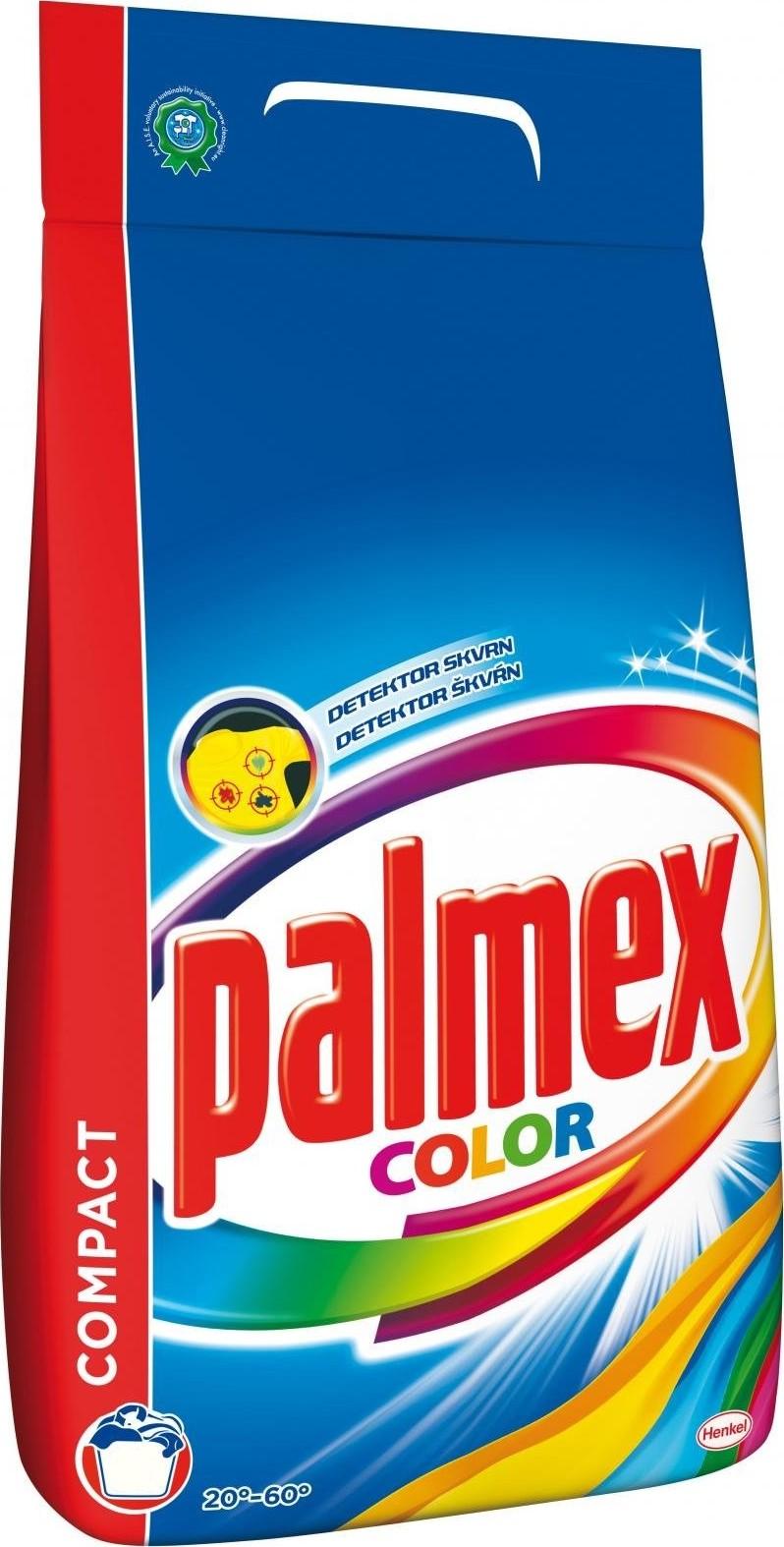 Fotografie Palmex Color prací prášek na praní barevného prádla 55 dávek 3,85 kg