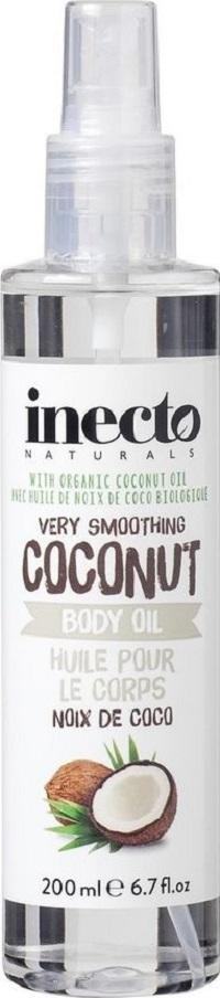 Fotografie Inecto Naturals Coconut tělový olej s čistým kokosovým olejem 200 ml