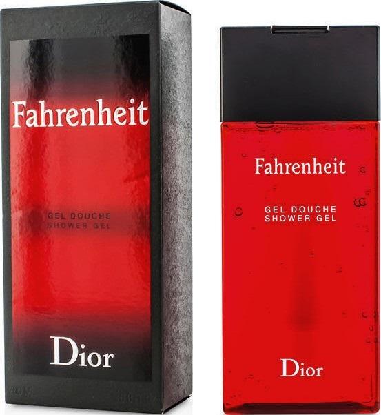 Fotografie Christian Dior - Fahrenheit 200ml Sprchový gel M