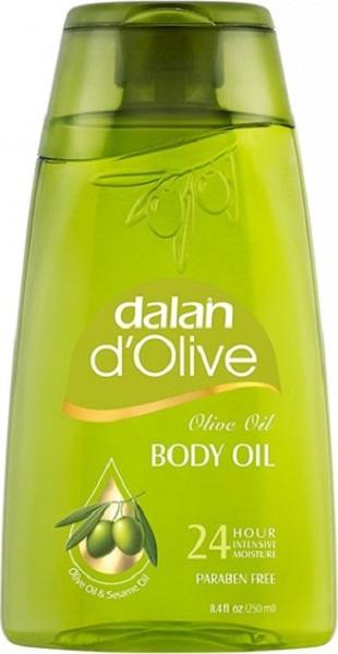 Fotografie Dalan d Olive Oil s olivovým olejem tělový olej 250 ml