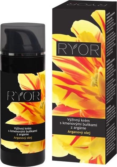 Ryor Arganový olej Výživný krém s kmenovými buňkami z argánie 50 ml