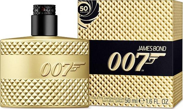 James Bond 007 Man Gold Edition toaletní voda 50 ml