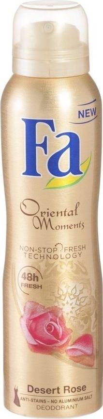 Fa Oriental Moments Desert Rose & Sandalwood Scents deodorant sprej pro ženy 150 ml
