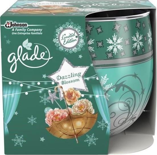 Glade by Brise Dazzling Blossom vonná svíčka ve skle doba hoření až 30 hodin 120 g