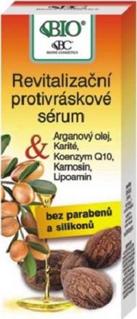 Bione Cosmetics Arganový olej & Karité revitalizační protivráskové sérum 40 ml