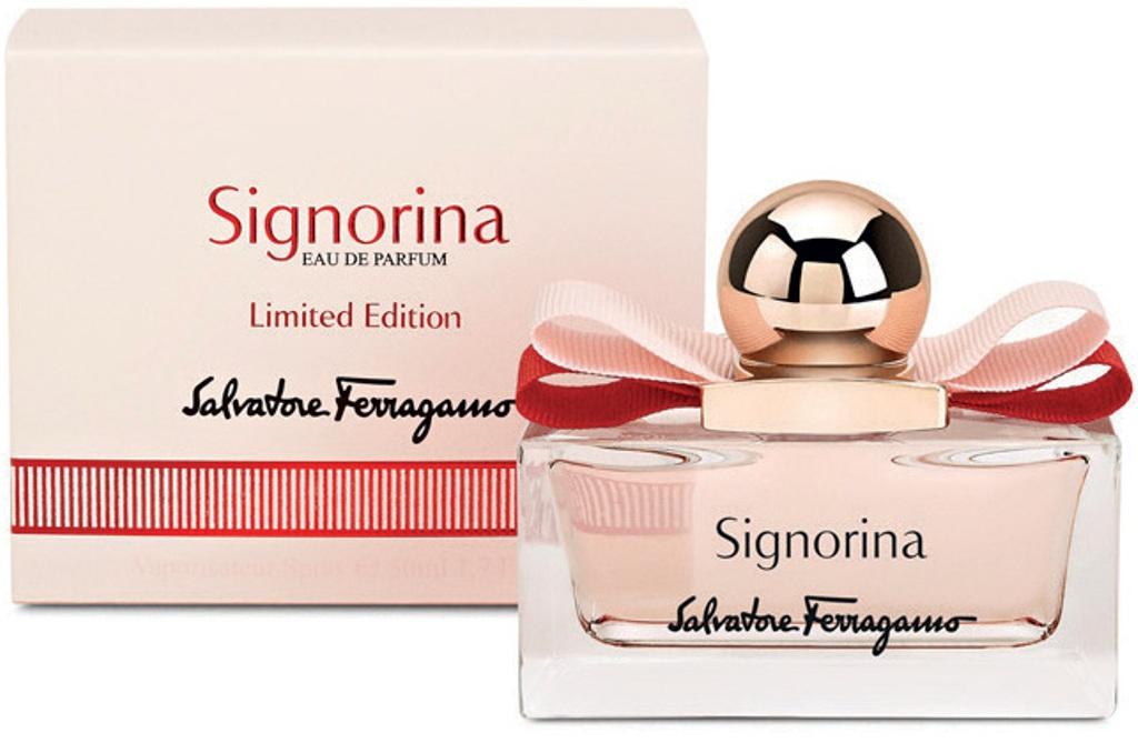Fotografie Salvatore Ferragamo Signorina Limited Edition parfémovaná voda pro ženy 20 ml