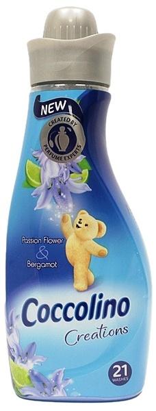 Coccolino Creations Passion Flower & Bergamot koncentrovaná aviváž 21 dávek 750 ml