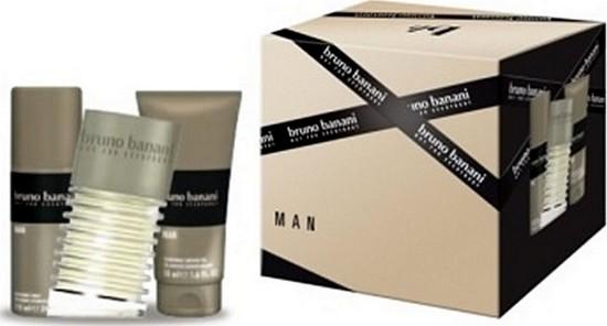 Bruno Banani Man toaletní voda 50 ml + sprchový gel 50 ml + deodorant sprej 50 ml dárková sada