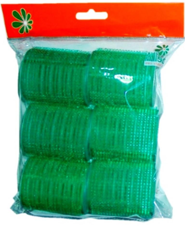 Abella Natáčky na suchý zip, samodržící 55 mm 6 kusů