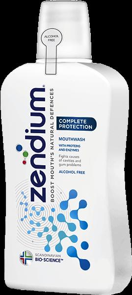 Fotografie Zendium Complete ústní voda pro posílení přirozené obranyschopnosti vaší ústní dutiny 500 ml