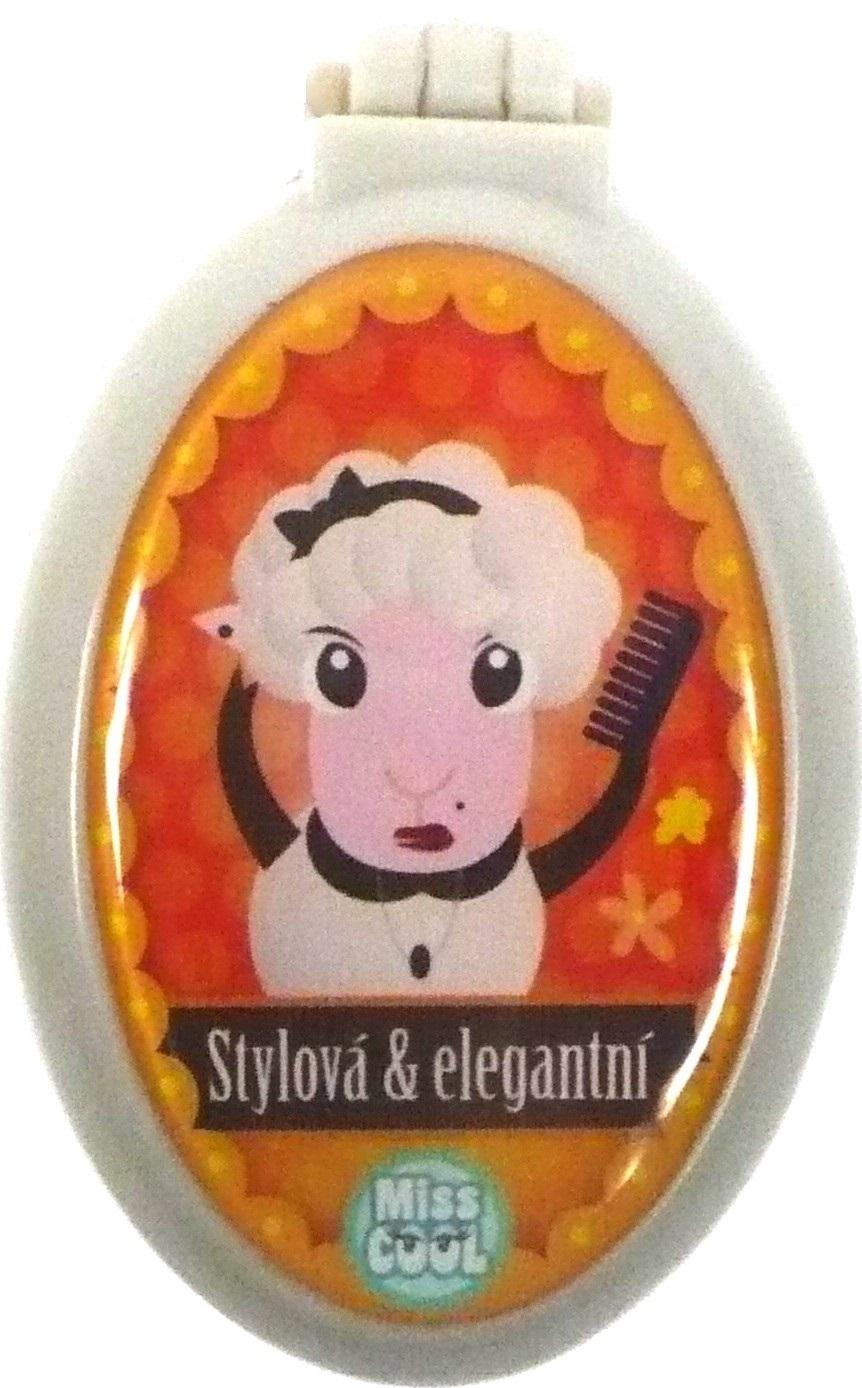 Nekupto Miss Cool Hřeben se zrcátkem Ovečka Stylová & elegantní 004
