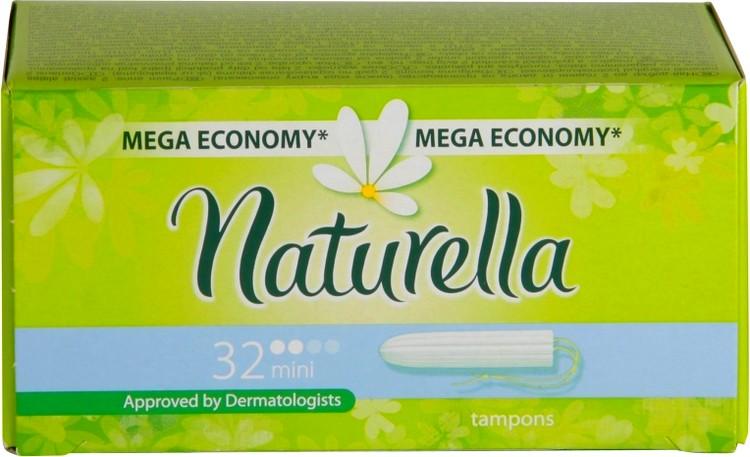 Fotografie Naturella Mini Tampony 32 kusů