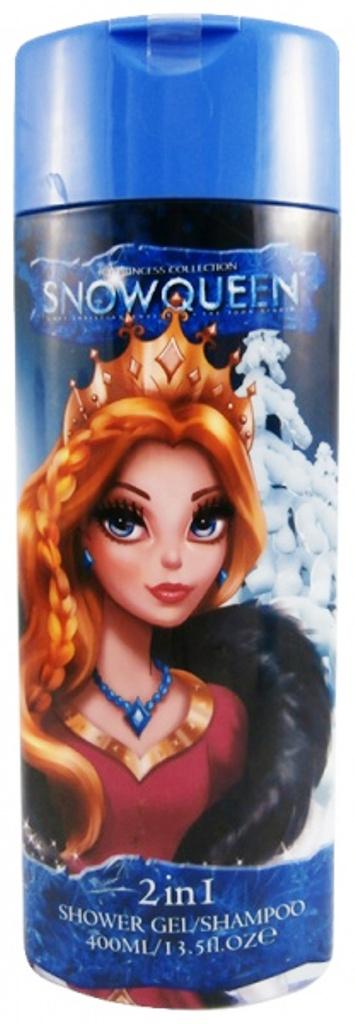 Snowqueen Sněhová královna zrzavá 2v1 sprchový gel a šampon 400 ml