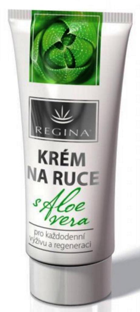Fotografie Regina Aloe Vera pro každodenní výživu a regeneraci krém na ruce 60 ml