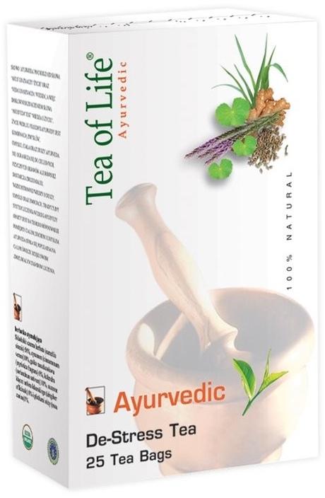 Tea of Life De-Stress Tea ajurvédský bio čaj proti stresu 25 x 2 g