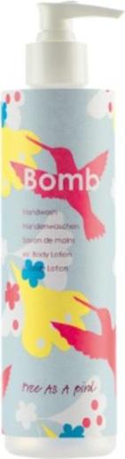 Fotografie Bomb Cosmetics Volný jako pták - Free as a Bird tekuté mýdlo s dávkovačem 300 ml