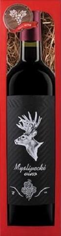 Bohemia Cabernet Sauvignon dárkové víno Myslivecké víno 0,75 l