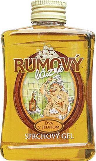 Fotografie Bohemia Gifts & Cosmetics Rumová kosmetika Rumový lázně sprchový gel s vůní rumu 300 ml
