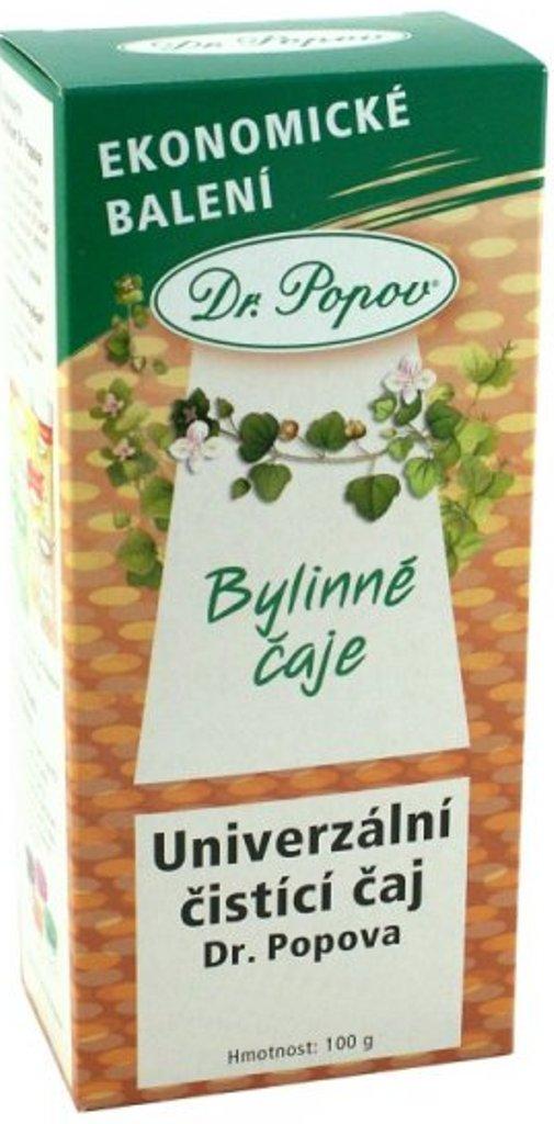 Dr.Popov Univerzální čistící bylinný čaj 100 g