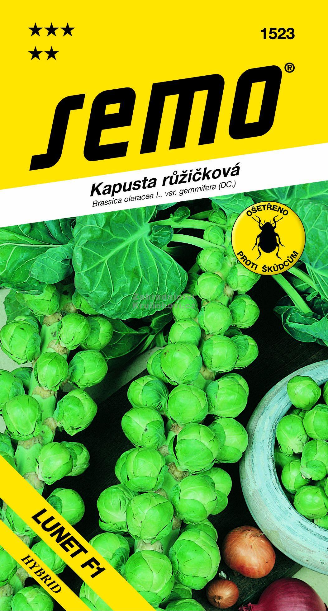 Semo Kapusta růžičková Lunet F1 35 semen
