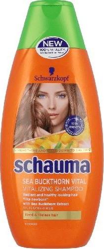 Fotografie Schauma Sea Buckthorn Vital vitalizační šampon na vlasy 250 ml