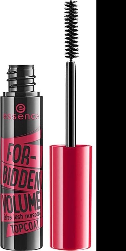 Essence Forbidden Volume False Lash Mascara Topcoat krycí řasenka Black 10 ml