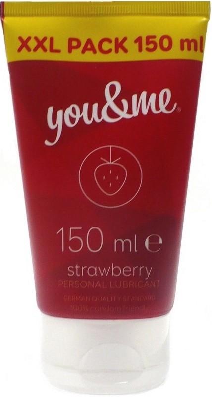 Lubrik.gel You+Me 150 ml Strawberry 0057