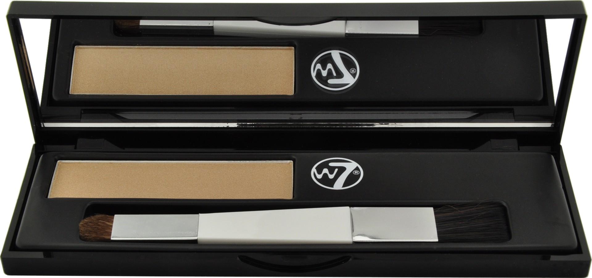 Fotografie W7 Cosmetics Cover Up Root Camouflage Kit barva na krytí šedivých vlasových kořínků Blonde 3,5 g