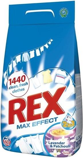Fotografie Rex Max Effect Lavender & Patchouli prací prášek 60 dávek 4,2 kg