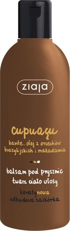 Fotografie Ziaja Cupuacu sprchový balzám na tvář, tělo a vlasy 300 ml