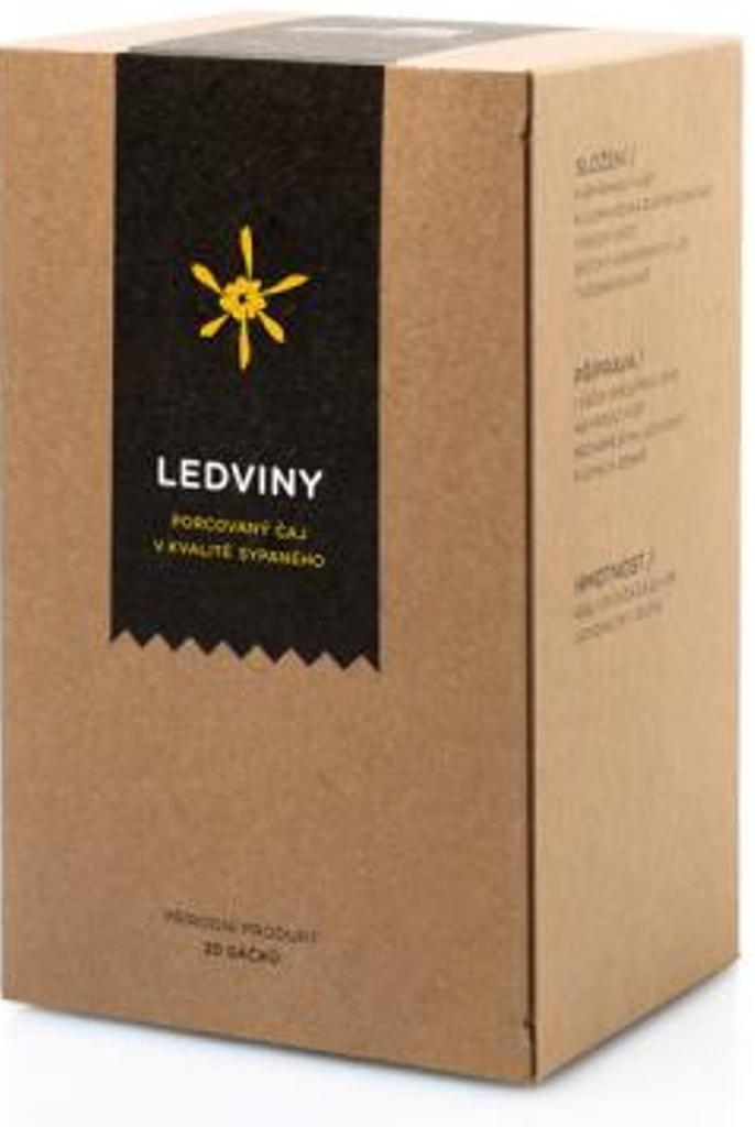 Aromatica Ledviny bylinný čaj 20 x 2 g