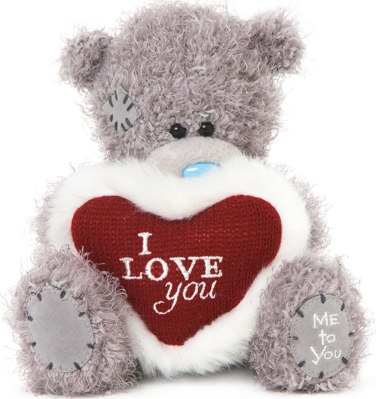 Me to You Medvídek se srdcem s nápisem I Love You 15 cm