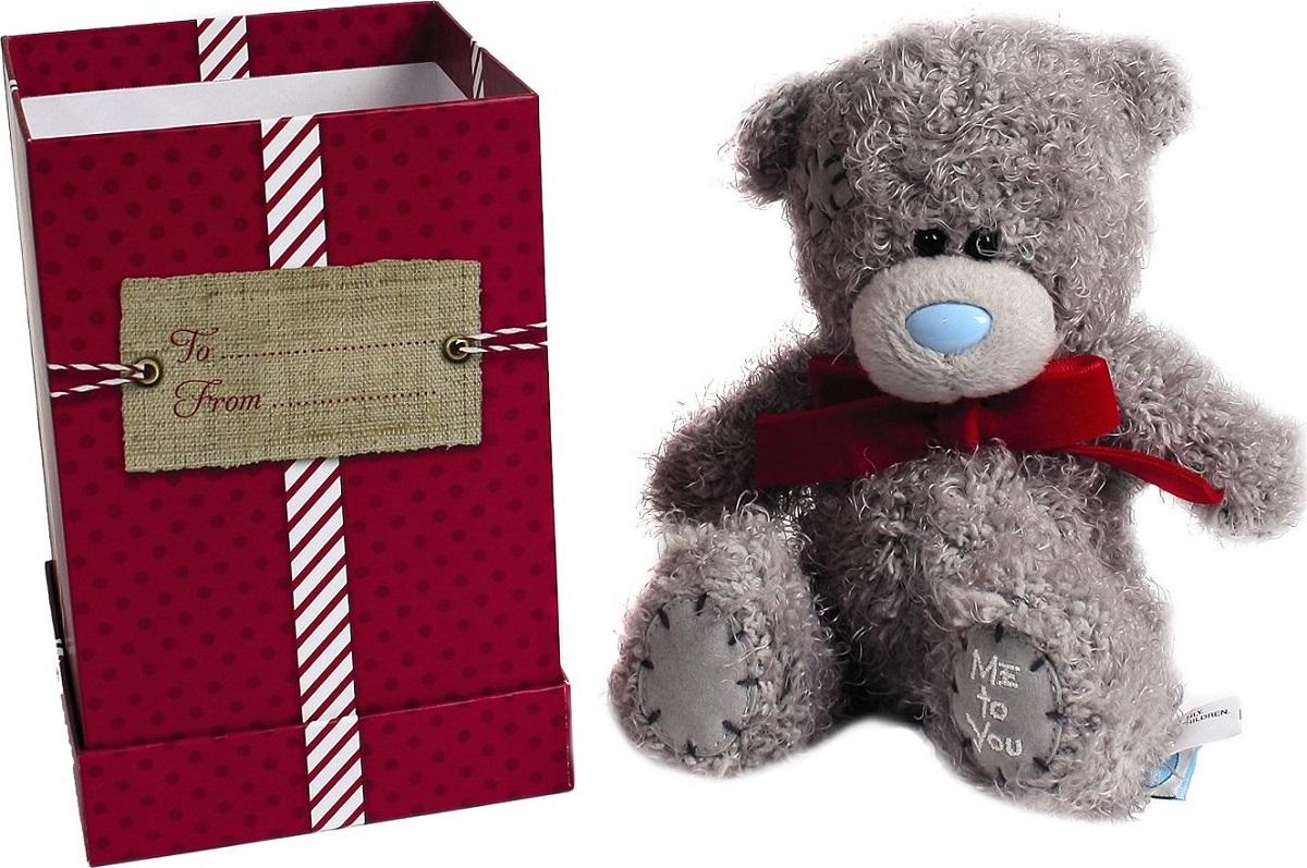 Me to You Medvídek s mašličkou v dárkové krabičce 13 cm