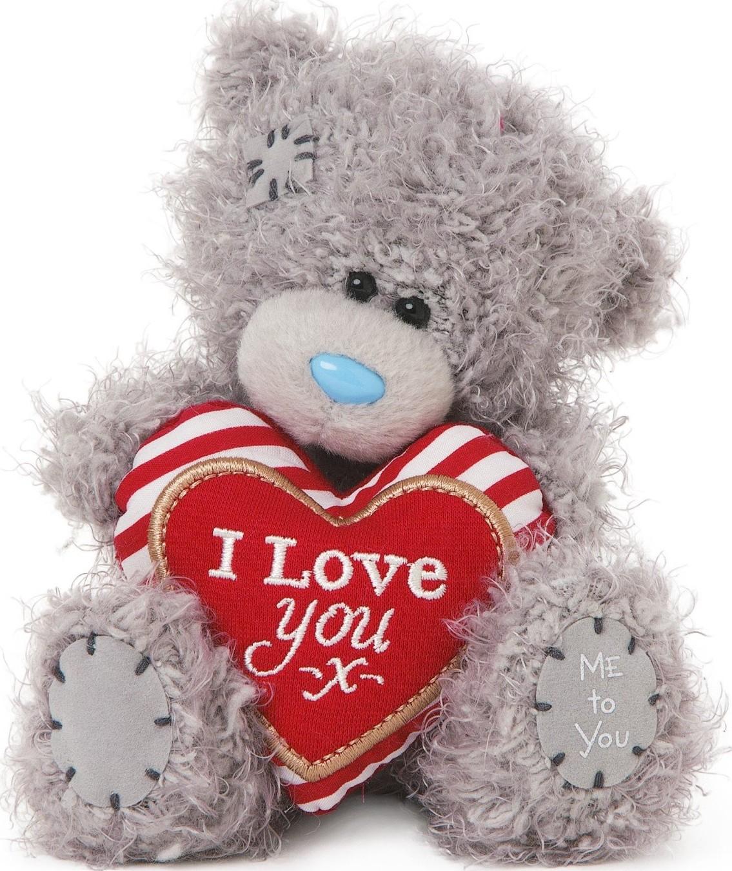 Me to You Medvídek se srdcem s nápisem I Love You 13 cm